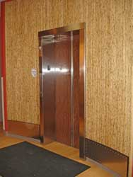 Elevator Surround with Kirei Board