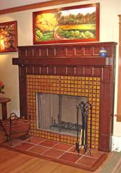 Arts & Crafts style Mantle