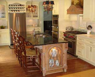 Country French style Kitchen