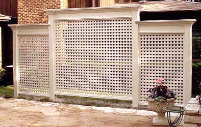 Cottage Style Painted Garden Arbor